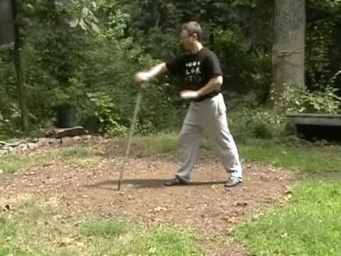 Baguazhang Stick Training #1 - YouTube