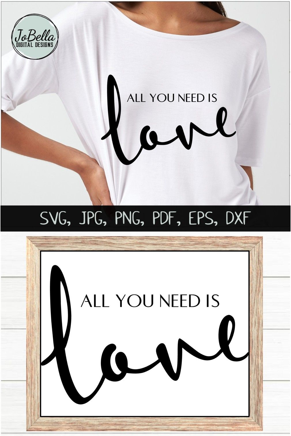 Download The Beatles All You Need Is Love SVG, Printable and ...