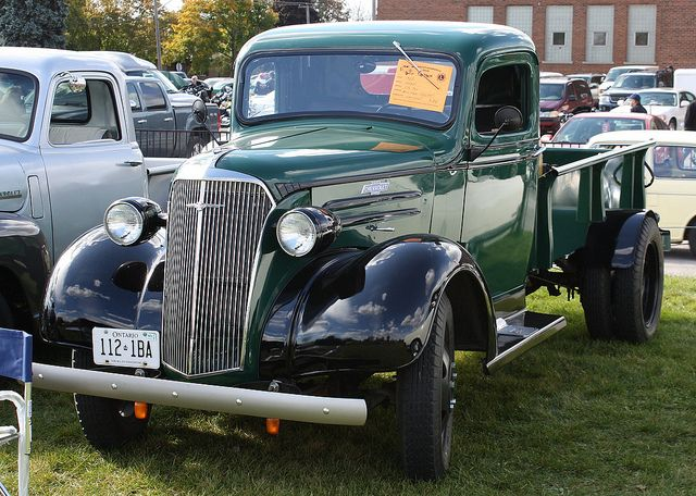 1937 Chevy Truck 1 5 Ton Chevrolet 2 Pickup