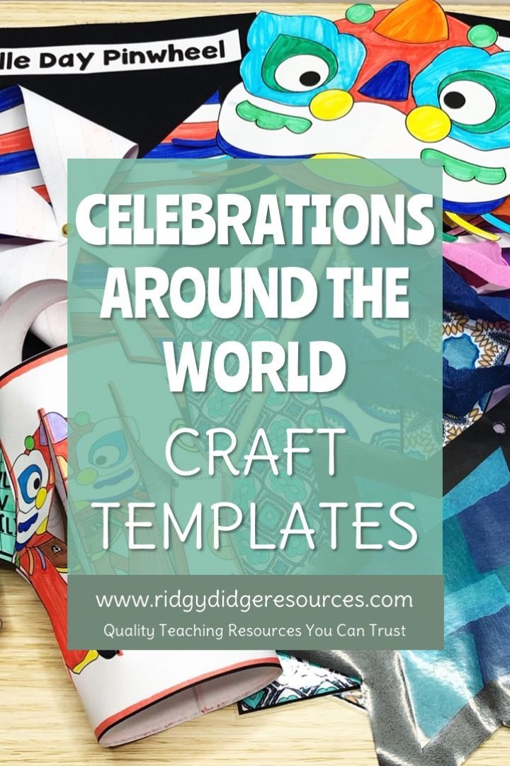 Celebrations Around the World Crafts (With images