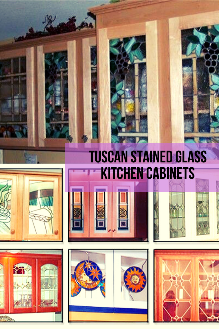 Tuscan Stained Glass Kitchen Cabinets Glass Kitchen Cabinets Glass Kitchen Glass Kitchen Cabinet Doors