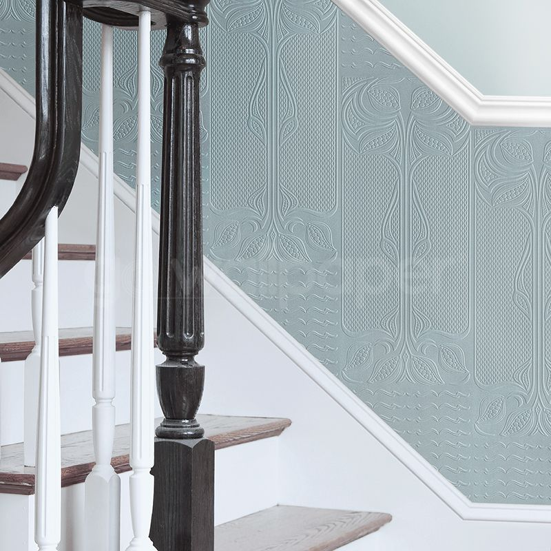 Brewster RD06730 Rococo Paintable Dado white
