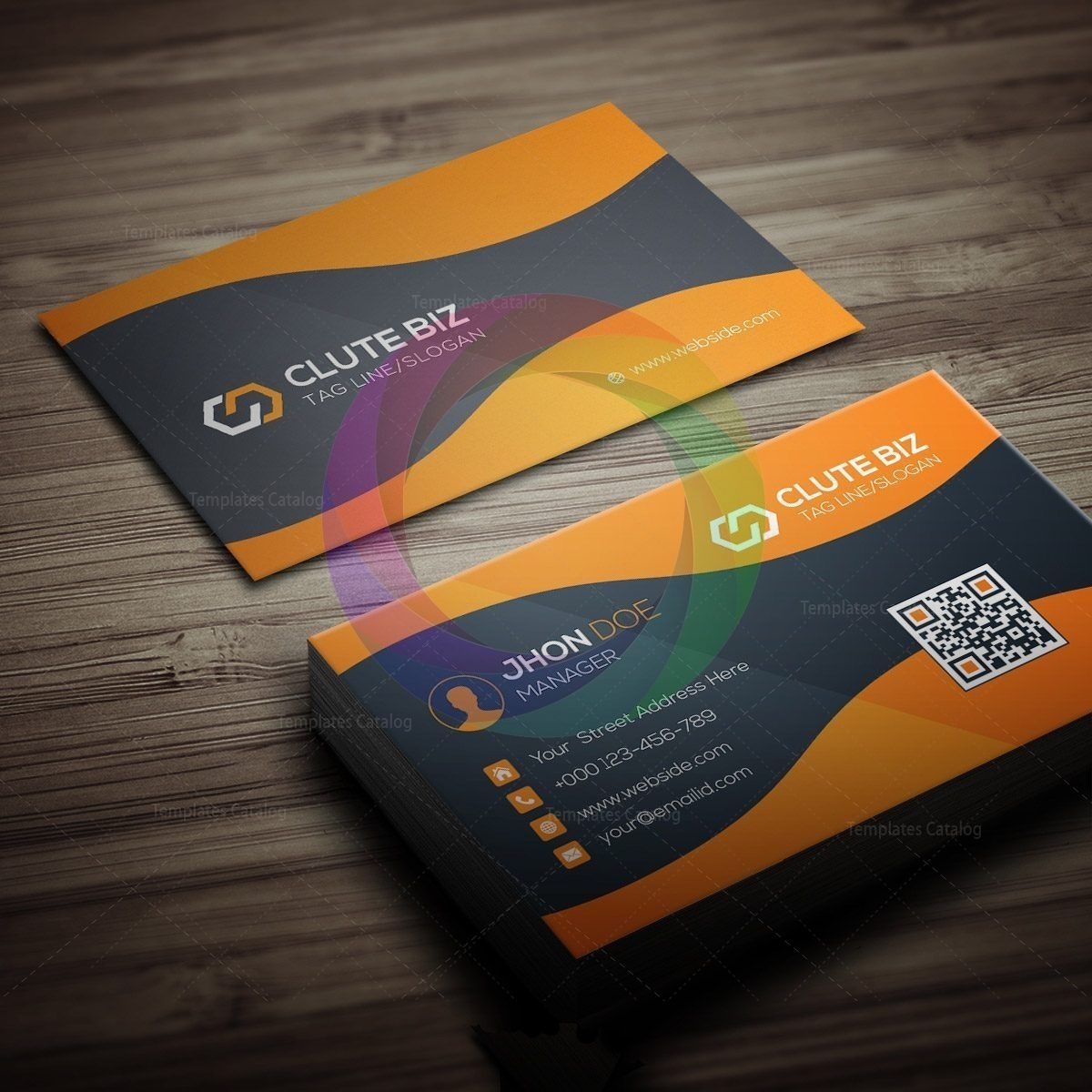 Stylish Versatile Business Card Business Cards Creative Templates Business Card Graphic Business Card Template Design