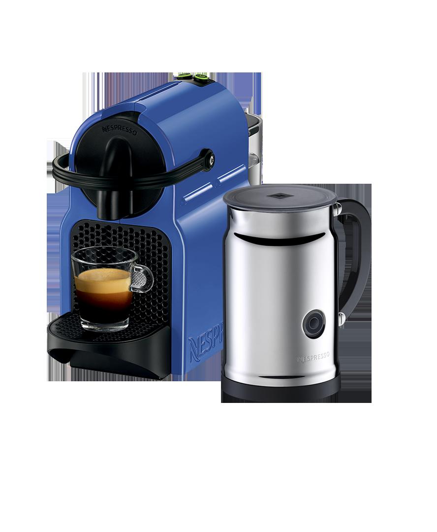 Inissia Blueberry Blue Bundle Nespresso, Nespresso