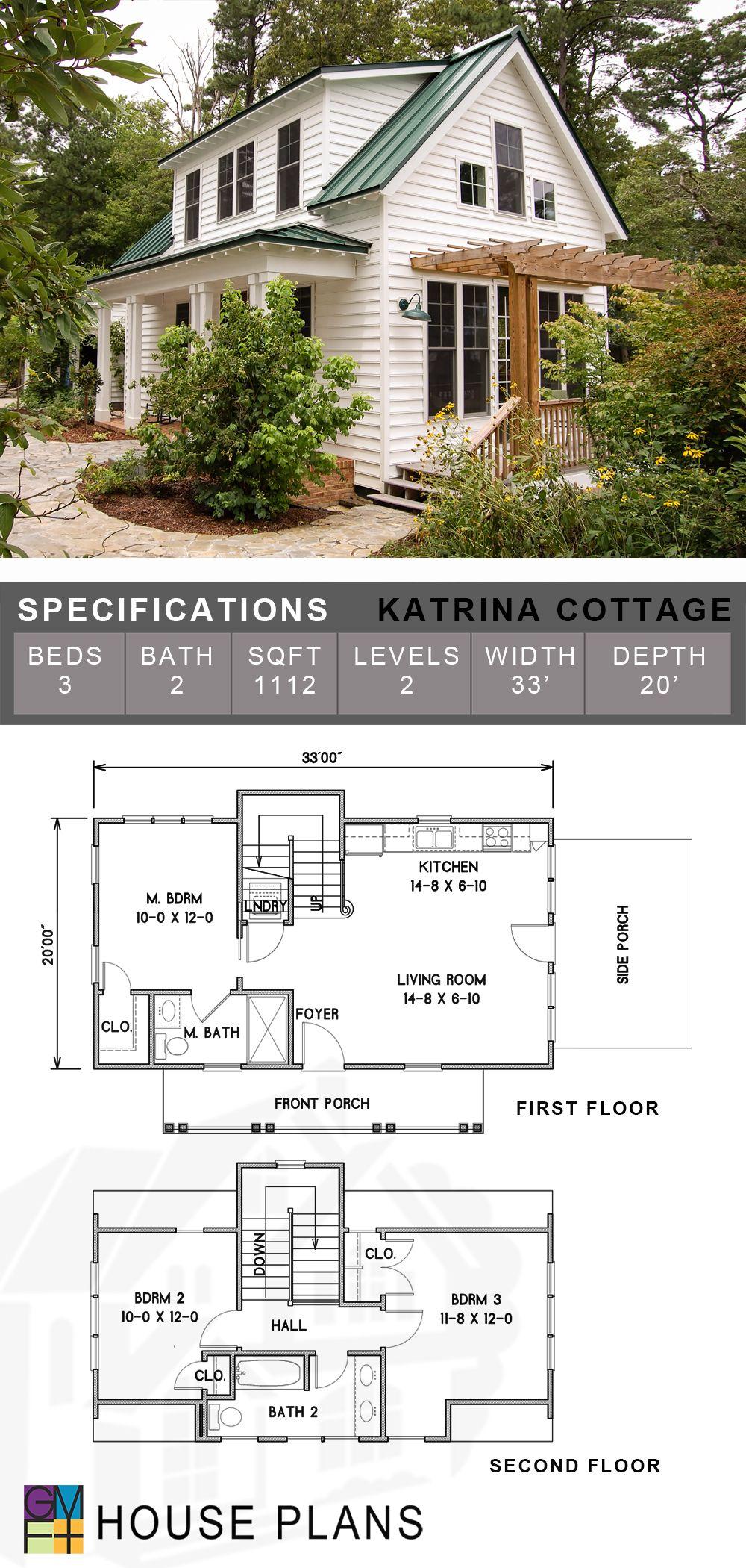 Katrina Cottage Sims House Plans Dream House Plans Cottage House Plans