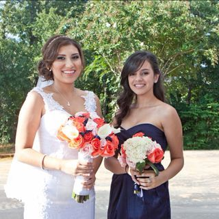 Most beautiful bride and maid of honor ever and cousins!!