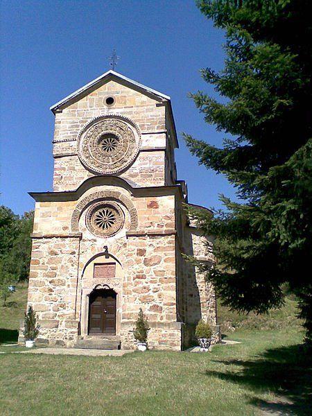 Monastery Napura, near town Krushevac, Serbia