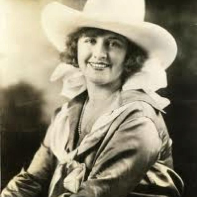 Ruth Roach Salmon was a trick rider in several Wild West shows. She retired down the road from Daddy's family. She and her husband kept Daddy working during the Great Depression. They kept them from starvation.