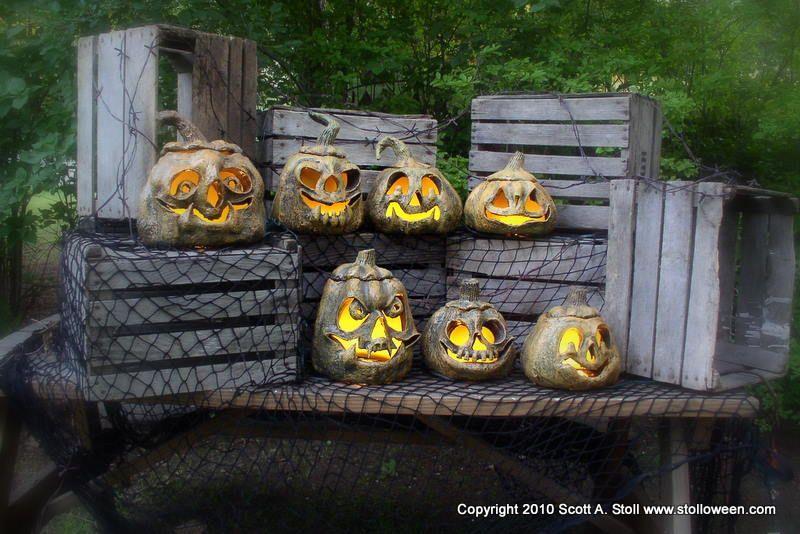 How To Pumpkins V2 0 Stolloween Studio Paper Mache Pumpkins Pumpkin Display Halloween Pumpkins