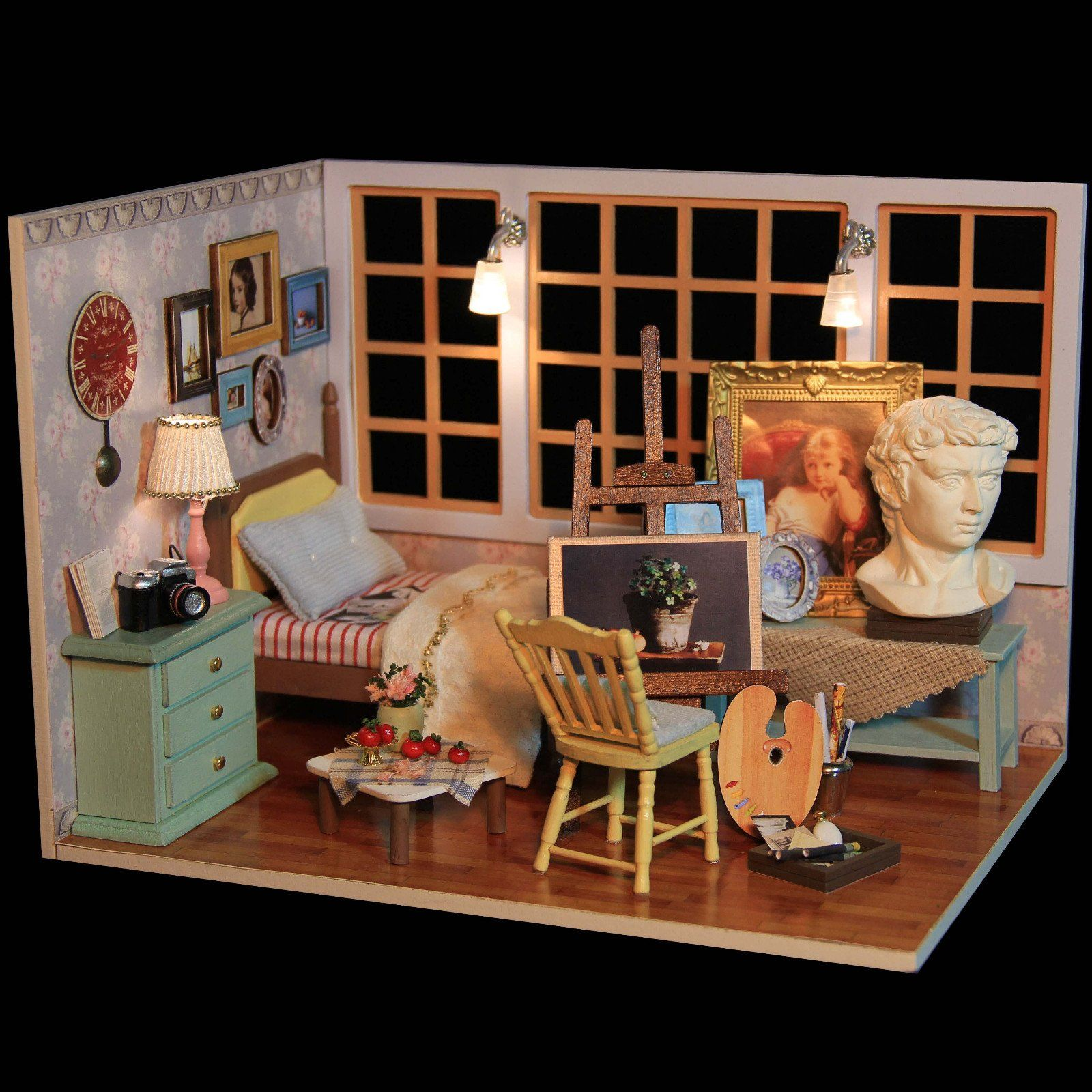 The Artist Doll House Collectable Edition Kit Doll house
