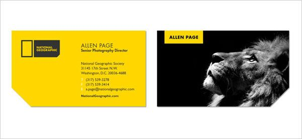 National-Geographic-Business-Cards-Templates-Custom-best-Business ...