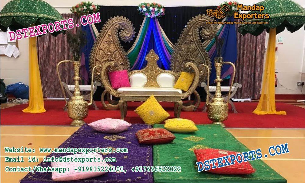 Muslim Mehandi Night Stage Setup MANDAPEXPORTERS