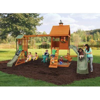 Big Backyard Laurelwood Swing Set | Backyard playground ...