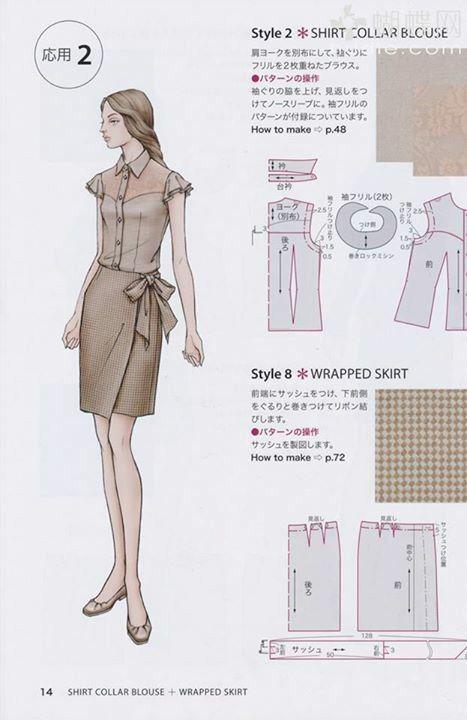 Pin de Ijvid en Sewing | Pinterest | Patrones, Blusas de moda y ...
