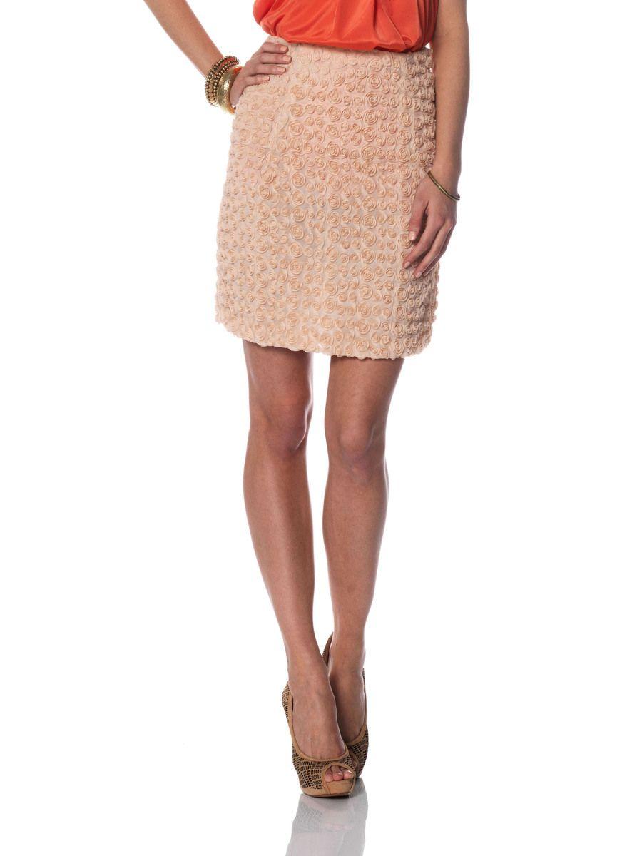 Skirt is from Vero Moda.