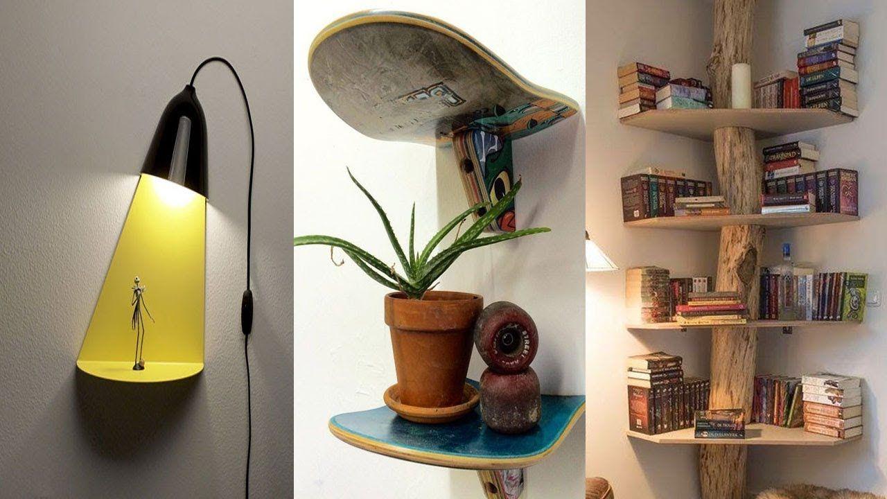 Creating Super 35 Creative Wall Shelves Ideas 2019 Diy Home