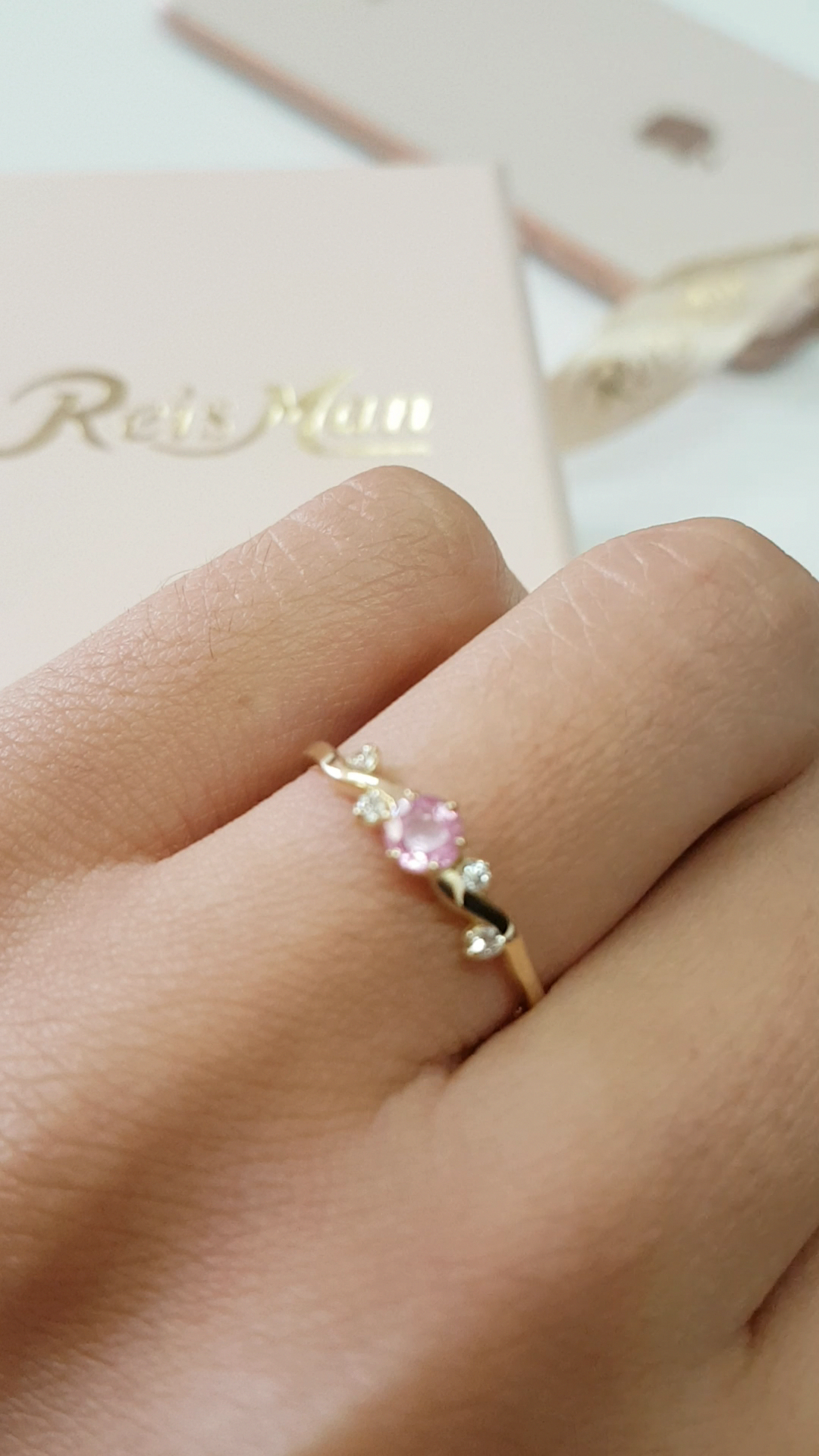 Real SI Clarity G-H Color Diamond Floral Ring Solid 14K Yellow Gold Handmade Fashion Fine Jewelry Wedding Proposal Heart Ring