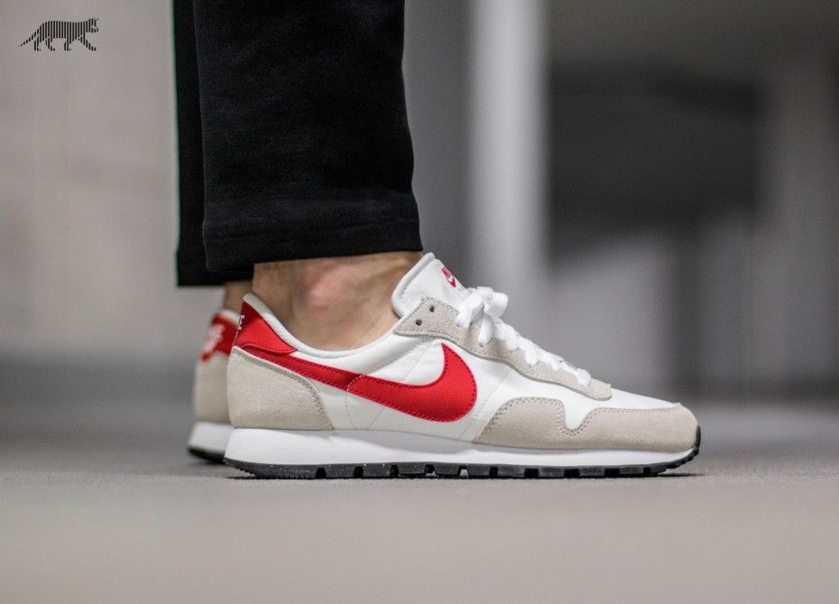 Nike Air Pegasus 83 (White / Chilling Red - Summit White - Black) · Nike  Air PegasusSneakers FashionChillingMen's Style