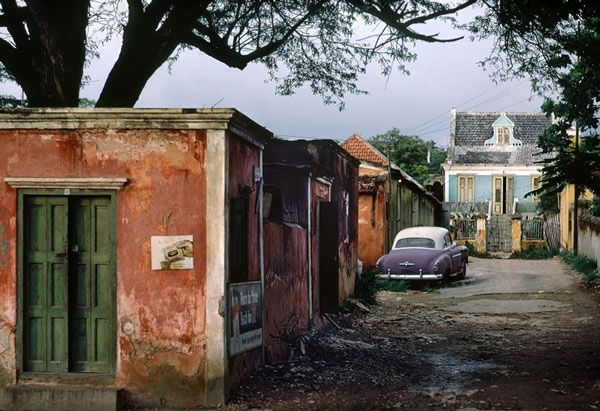 Fred Herzog  Side Road Curaçao Ink Jet Print  e size 1967