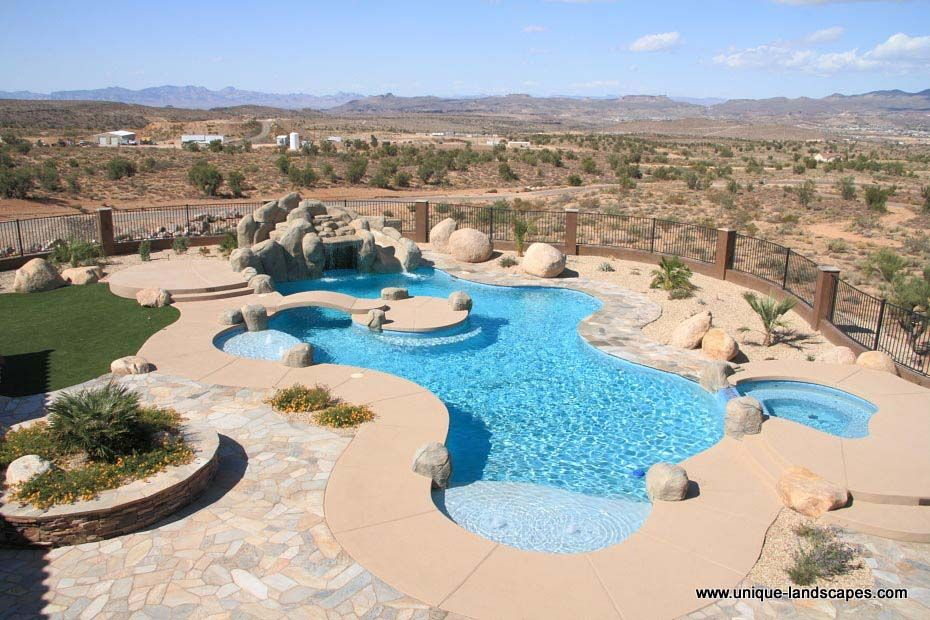 Unique+swimming+pool+designs | Swimming Pool Design | Phoenix Landscaping  Design U0026