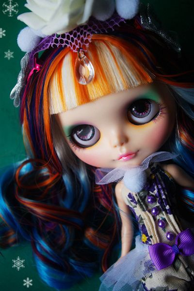 A-Dong's Custom Blythe doll No.62 *Snow Rose* by 阿冬A-Dong, via Flickr