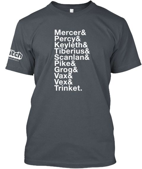 4c4333a4f900a1 Critical Role Limited Edition T-Shirt | The Coziest, Snuggliest Nerd ...