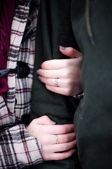 Calise Leanne Photography Winter Engagement Shoot