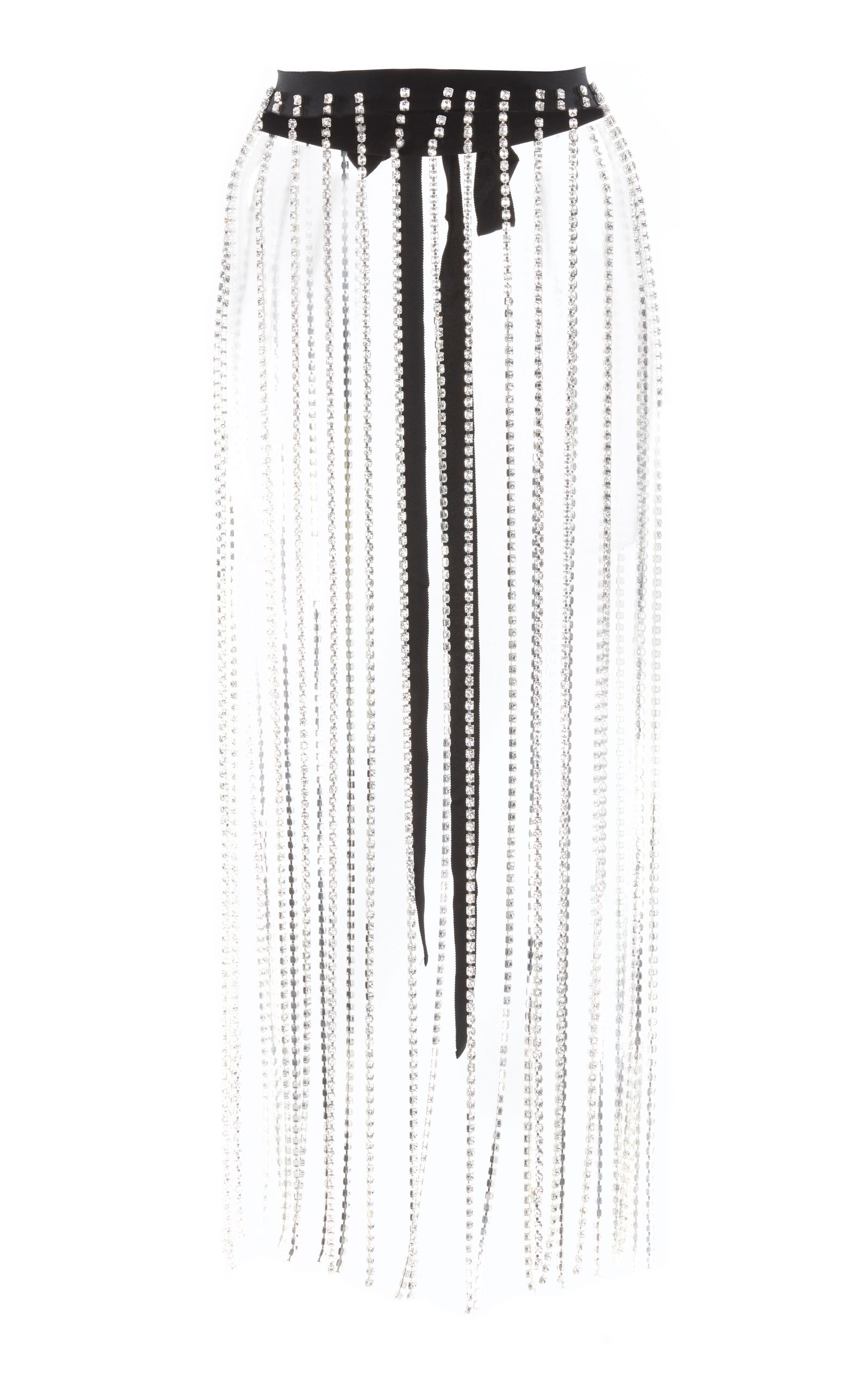 8e23dda83f CHRISTOPHER KANE CRYSTAL FRINGE SKIRT. #christopherkane #cloth ...
