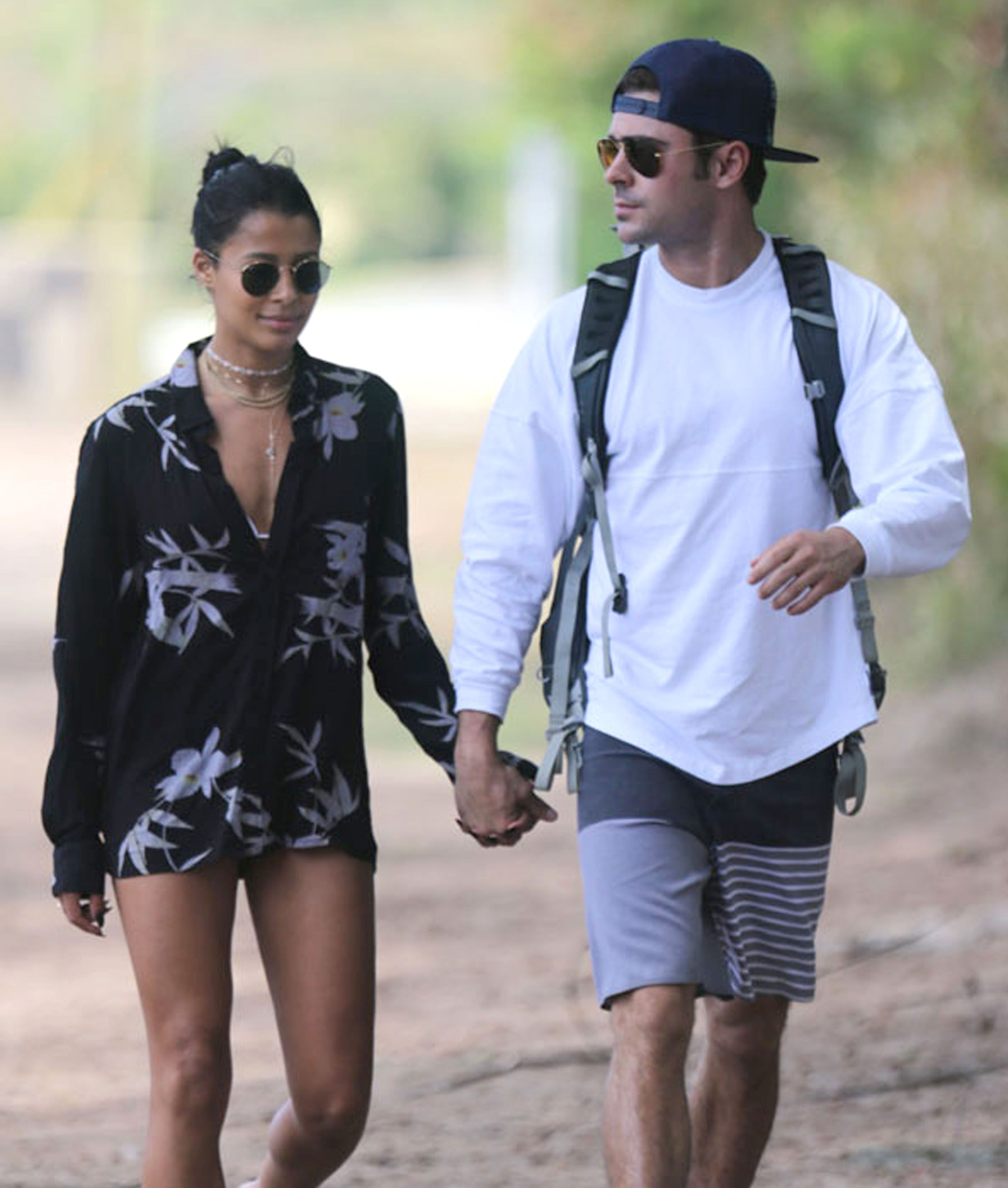 Zac Efron Treats His Girlfriend to a Supersweet Weekend