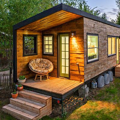 Tiny Sustainable Home   Small Space, Big Dreams Home Awards: On Wheels And  On