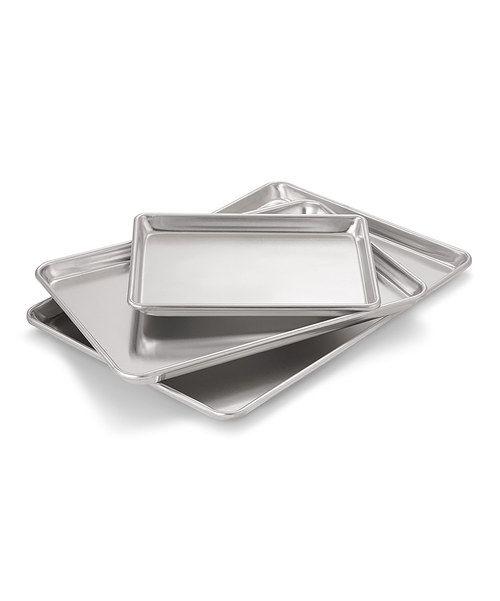 Look at this Artisan Three-Pack Baking Sheet Set on #zulily today!