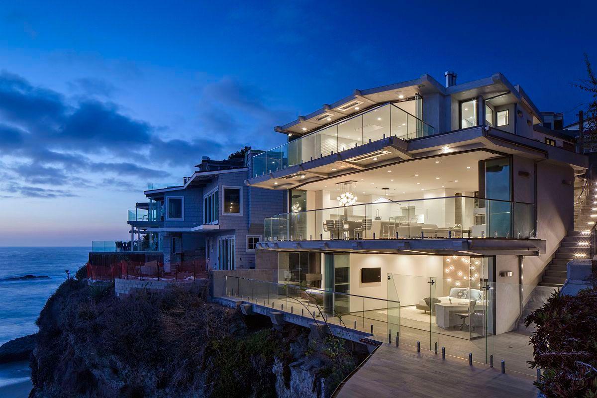 Купить дом в калифорнии на берегу океана снять квартиру в монте карло