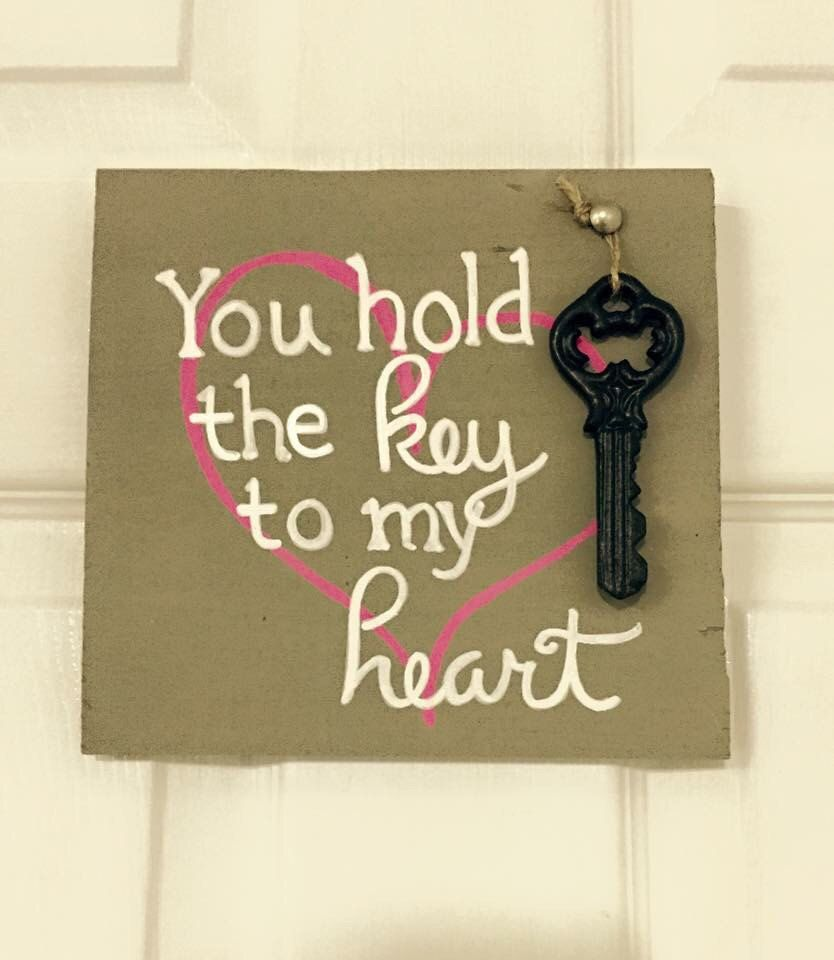 you hold the key to my heart, love sign, love, wedding decor