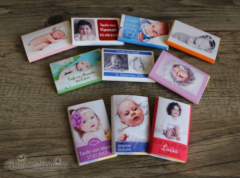 Gastgeschenke 20x Gastgeschenke Taufe Geburt Schokolade 7