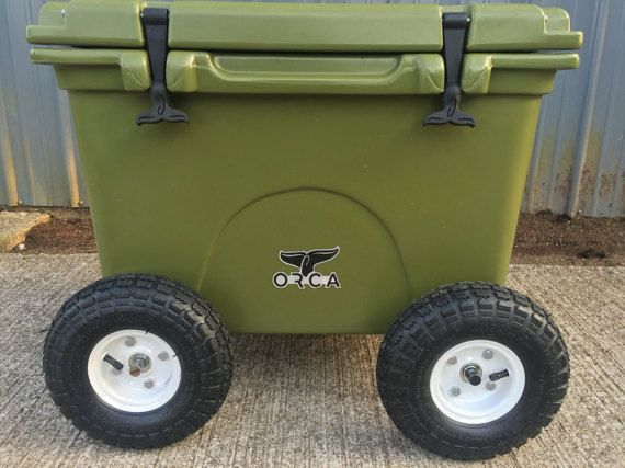 Chilly Wheelies Wheels For Yeti Rtic And Orca Coolers Etsy Orca Cooler Cooler Diy Cooler