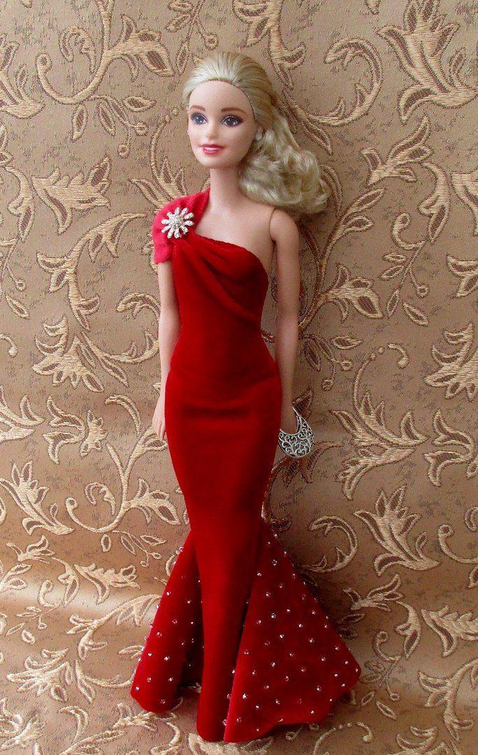 Tenues pour Barbie. Travaux d\'aiguille. | Barbie | Pinterest