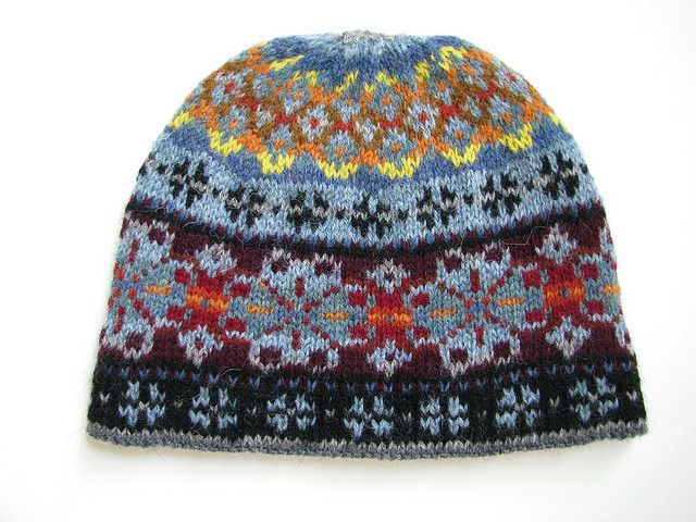 Electric Snow Fair Isle Hat by Don Godec on Ravelry   Knitting ...
