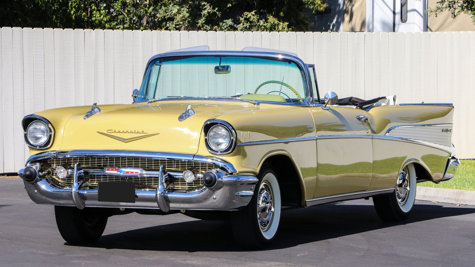 1957 Chevrolet Bel Air Convertible Presented As Lot T228 At