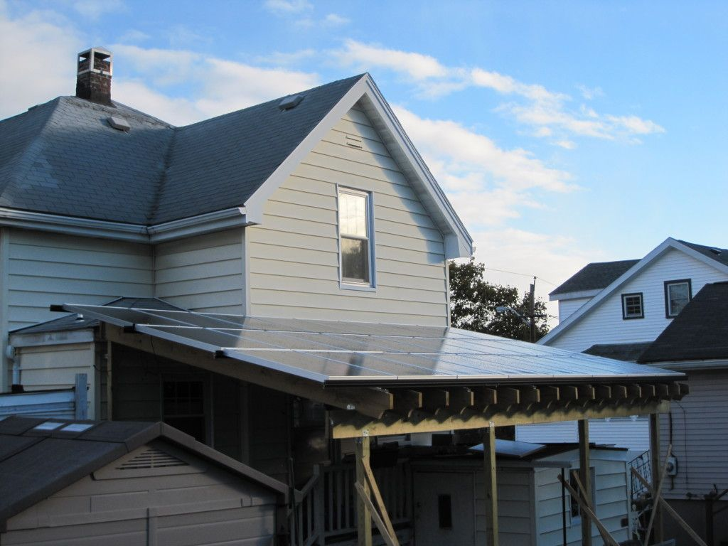 We Installed A Solar Pv Awning On Our Home That Generated 94 Of Our Electricity Last Year Check Out Our Journey To Solar Solar Solar Pv Green Living