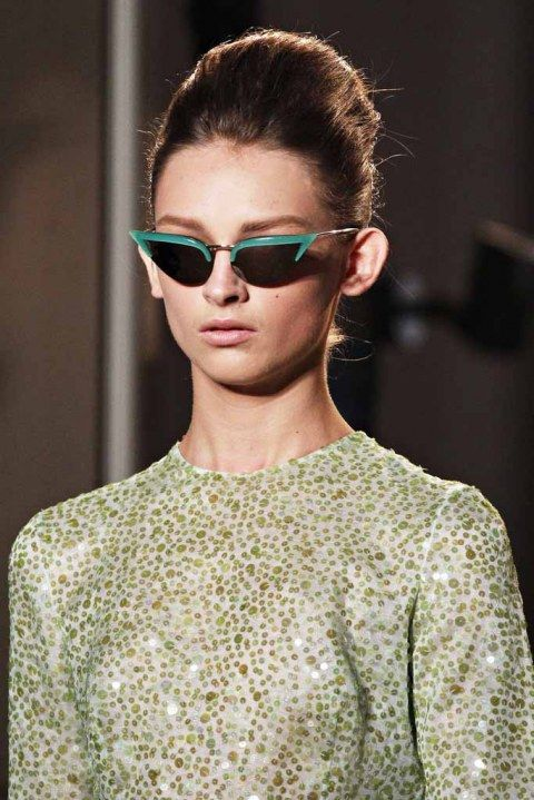 Rochas SS12 -- we gotta find dupes for these glasses