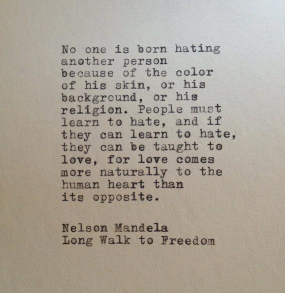 Nelson Mandela Quote Typed On Typewriter Mandela Quotes Nelson Mandela Quotes Quotable Quotes