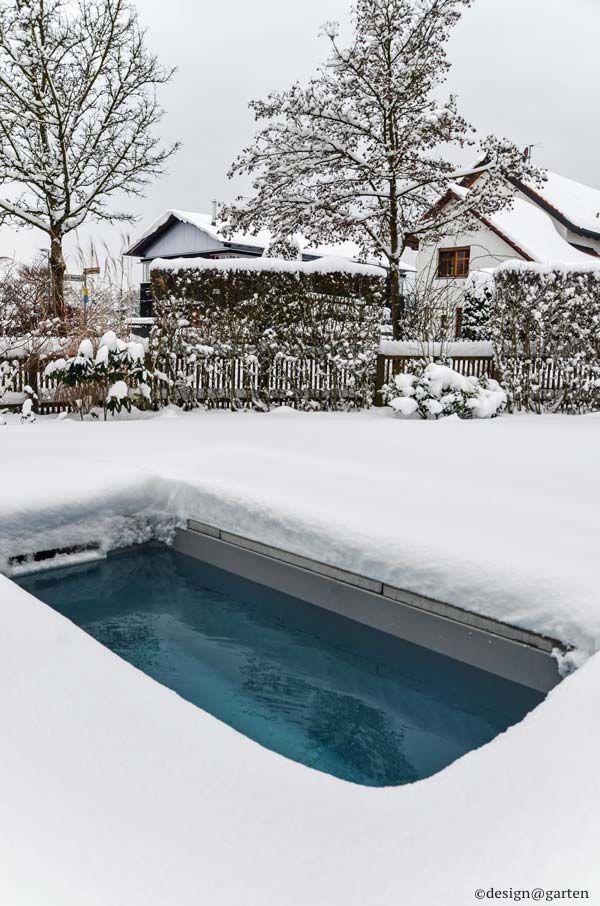 Tauchbecken im Garten, ganzjährig - auch im u0027Winter Ideen rund - reihenhausgarten und pool