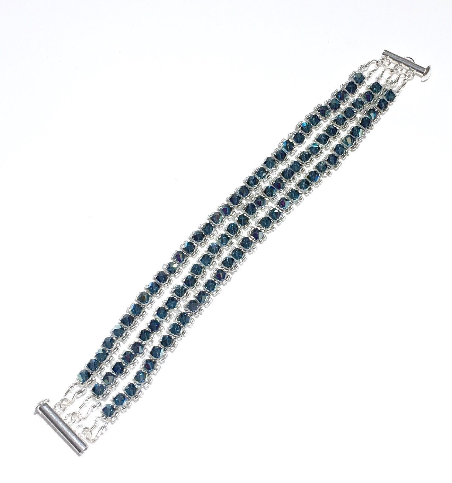Simply Sparkling Bracelet - Montana, Swarovski