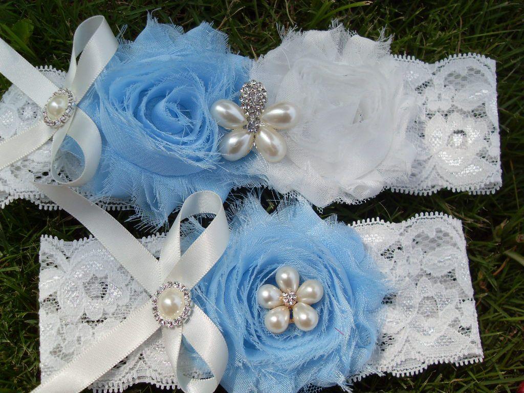 Wedding Garter Set Bridal Garter Set  Lace by Weddinggarter010, $14.99
