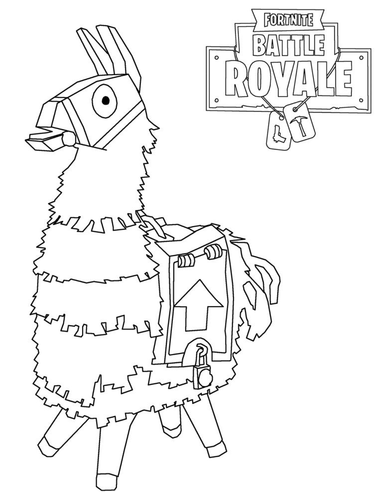 Fortnite Coloring Pages | Cool coloring pages, Printable ...