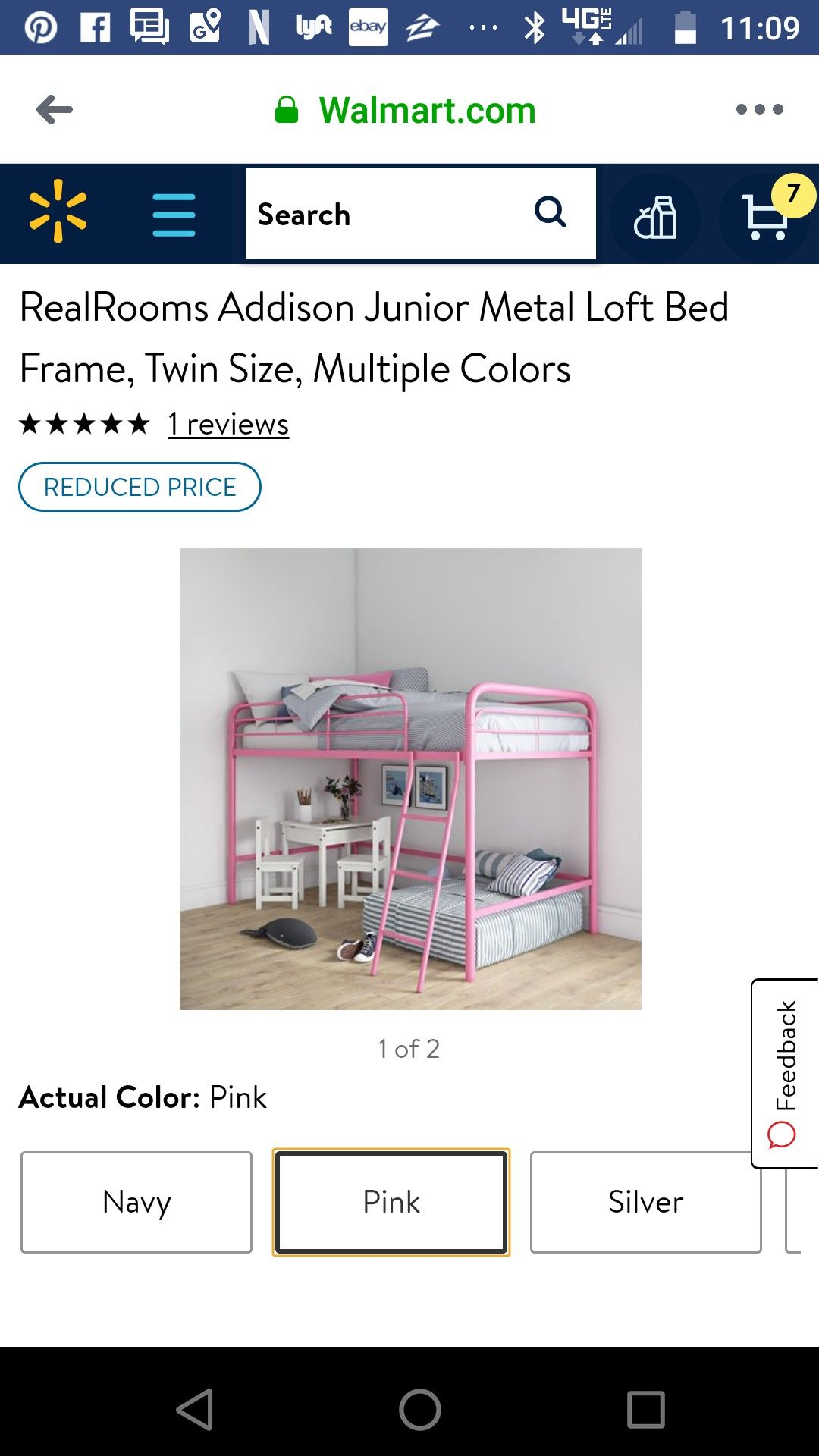 Pin by Micky Baron on Aurora's room Loft bed frame, Bed
