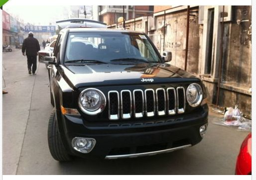 Chrome Grille Grill Headlight Head Lamp Cover For Jeep Patriot 2011 2012 2013 Jeep Patriot Lamp Cover Headlamp