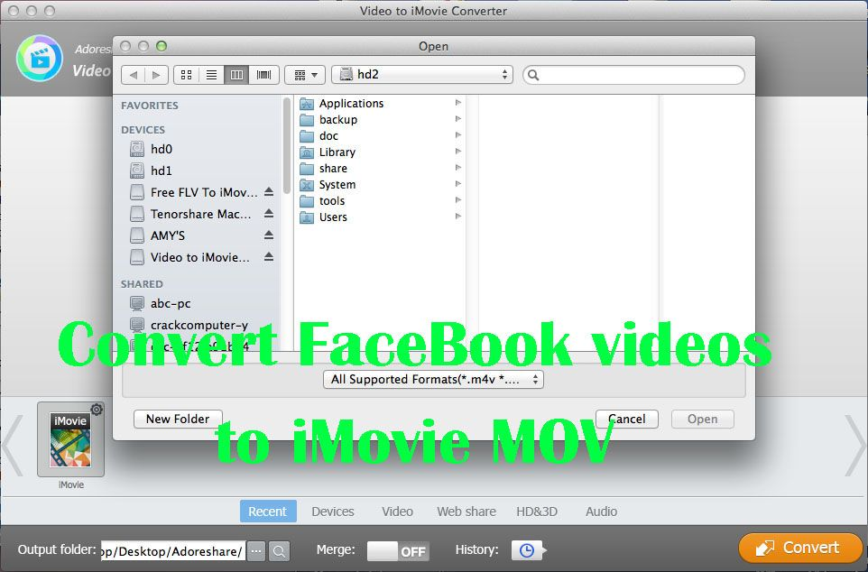 Facebook Videos to iMovie – How to Convert/ Import Facebook