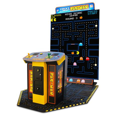 Costco]BANDAI NAMCO World's Largest PAC-MAN Arcade Machine with 108