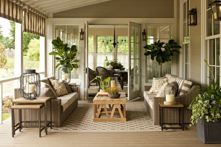 3 Season Porch Decorating Ideas Found On Decorpad Com Outdoor Rooms Screened In Patio Porch Design